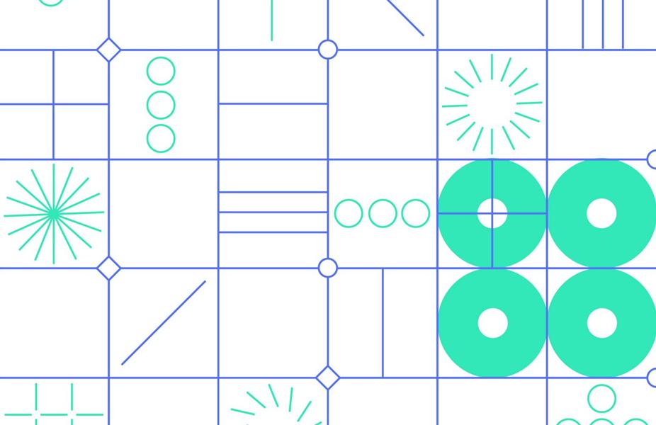 אלמנטים גרפיים - משחקים של קווים ועיגולים בלבד שמצליחים ליצור עושר ויזואלי
